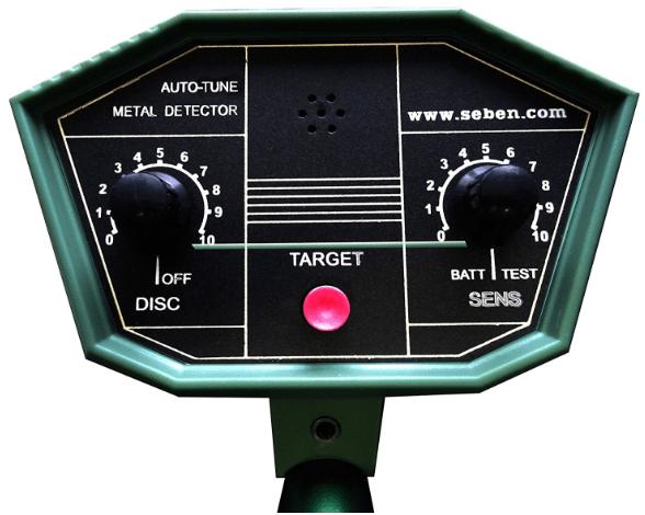 Test détecteur de métaux automatique Deep Target de Seben