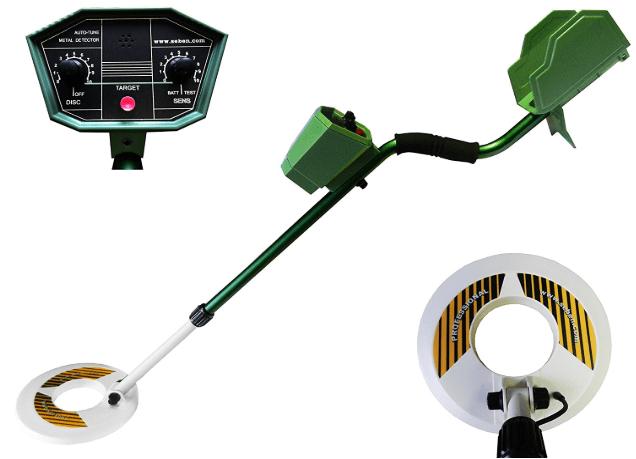 détecteur de métaux automatique Deep Target de Seben